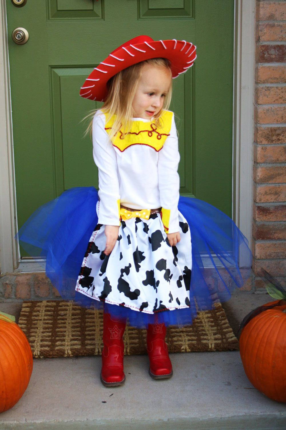 DIY Toy Story Jessie Halloween Costume Idea DIY