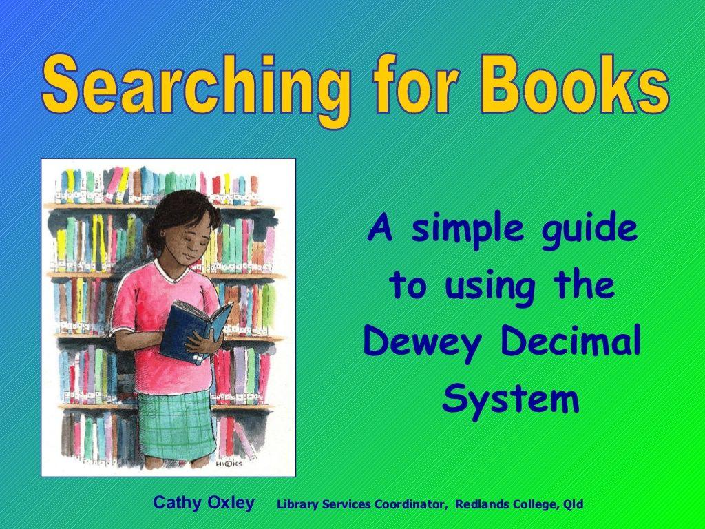 Worksheet On Dewey