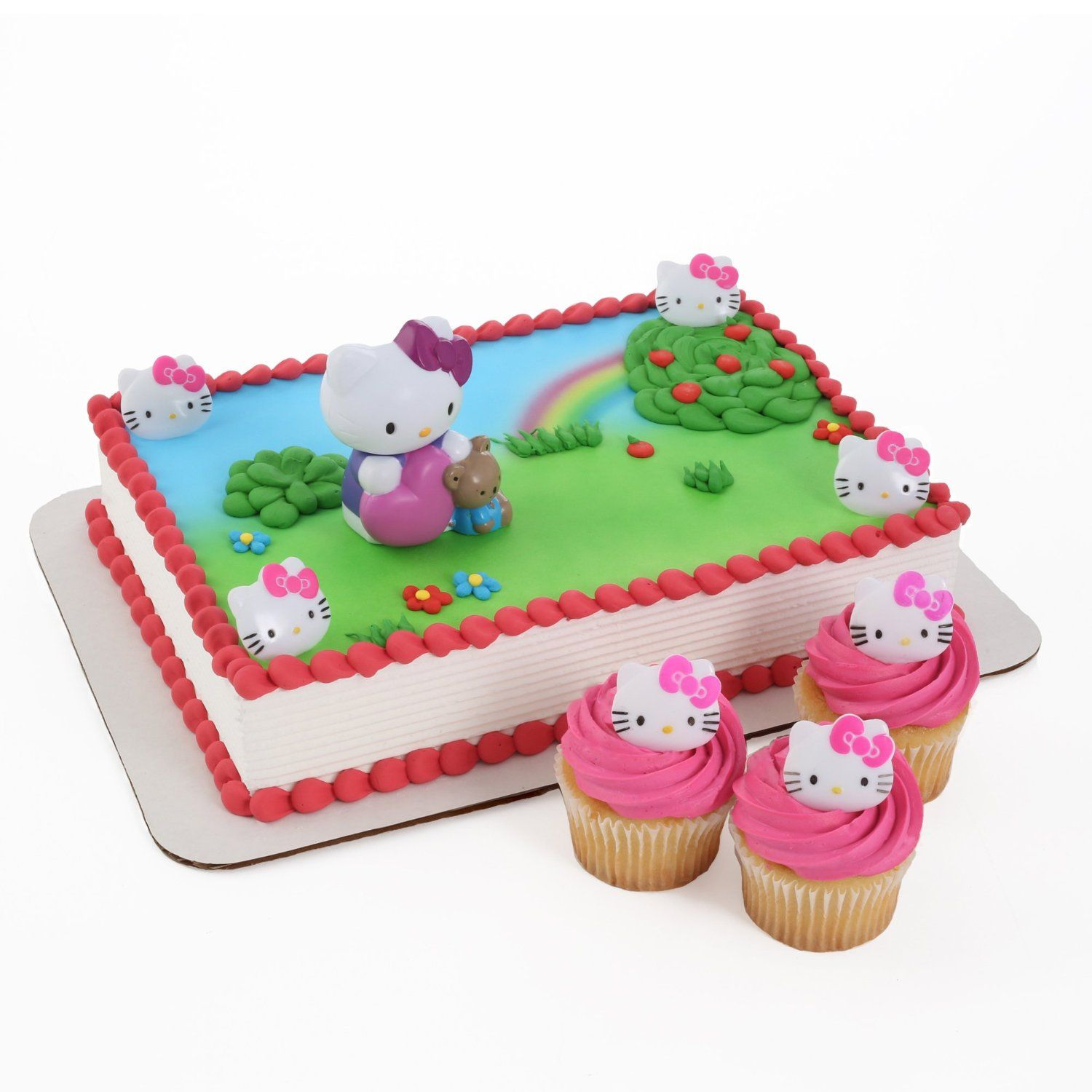 Amazon Hello Kitty Bubble Blower Cake Topper And 24