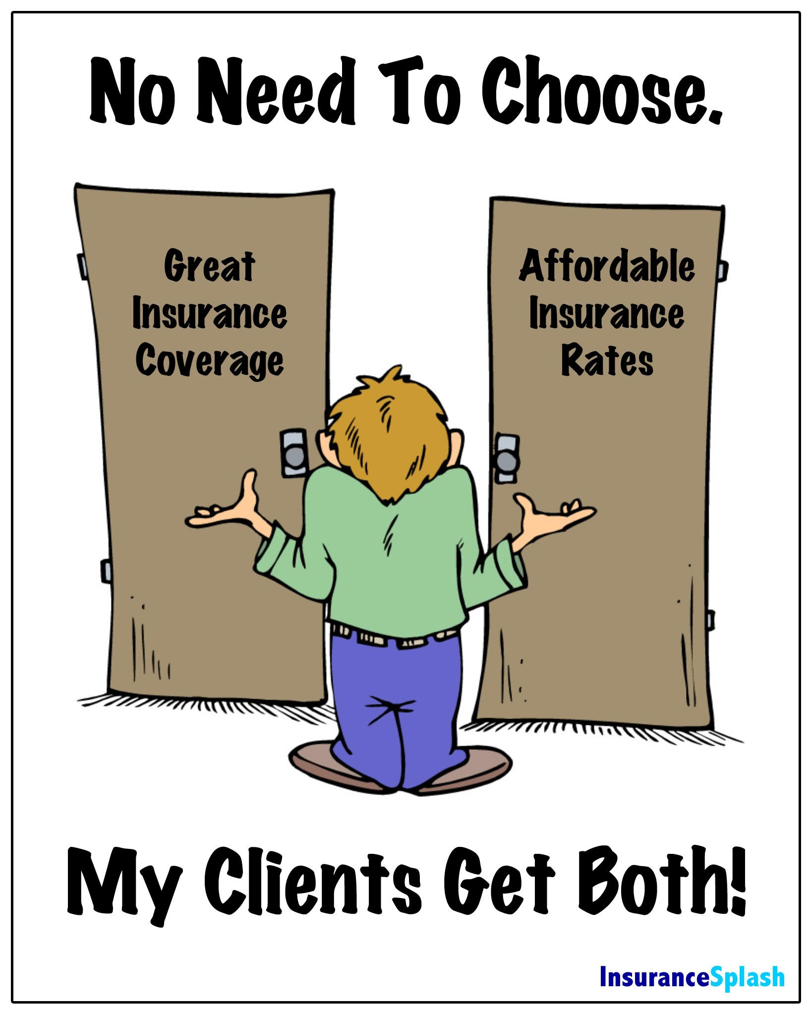 Get great insurance coverage and affordable insurance