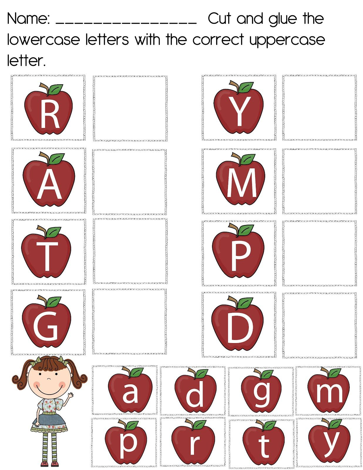 The Crazy Pre K Classroom Apples For I S Lesson Plan