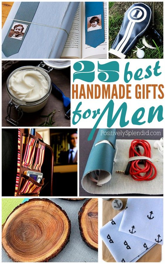 25 Handmade Gifts for Men Carrie, Gift and Craft