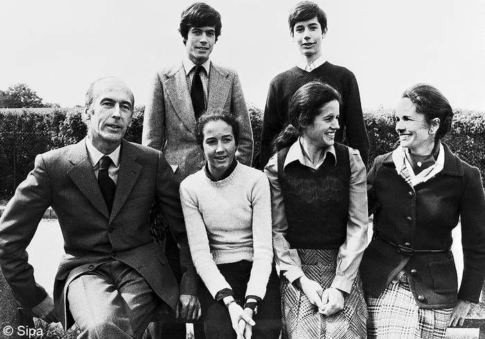 La famille Giscard d'Estaing | Valéry Giscard d'Estaing et ...