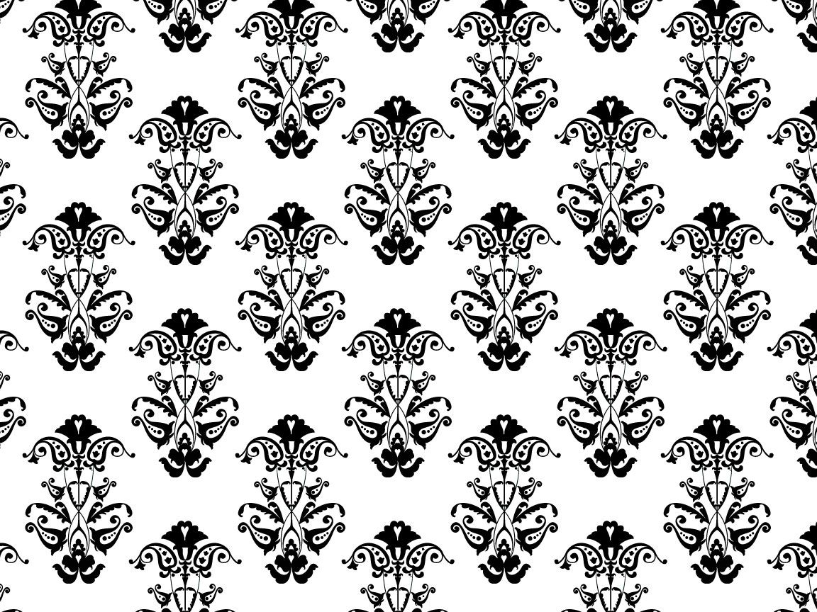 Black White Victorian 864