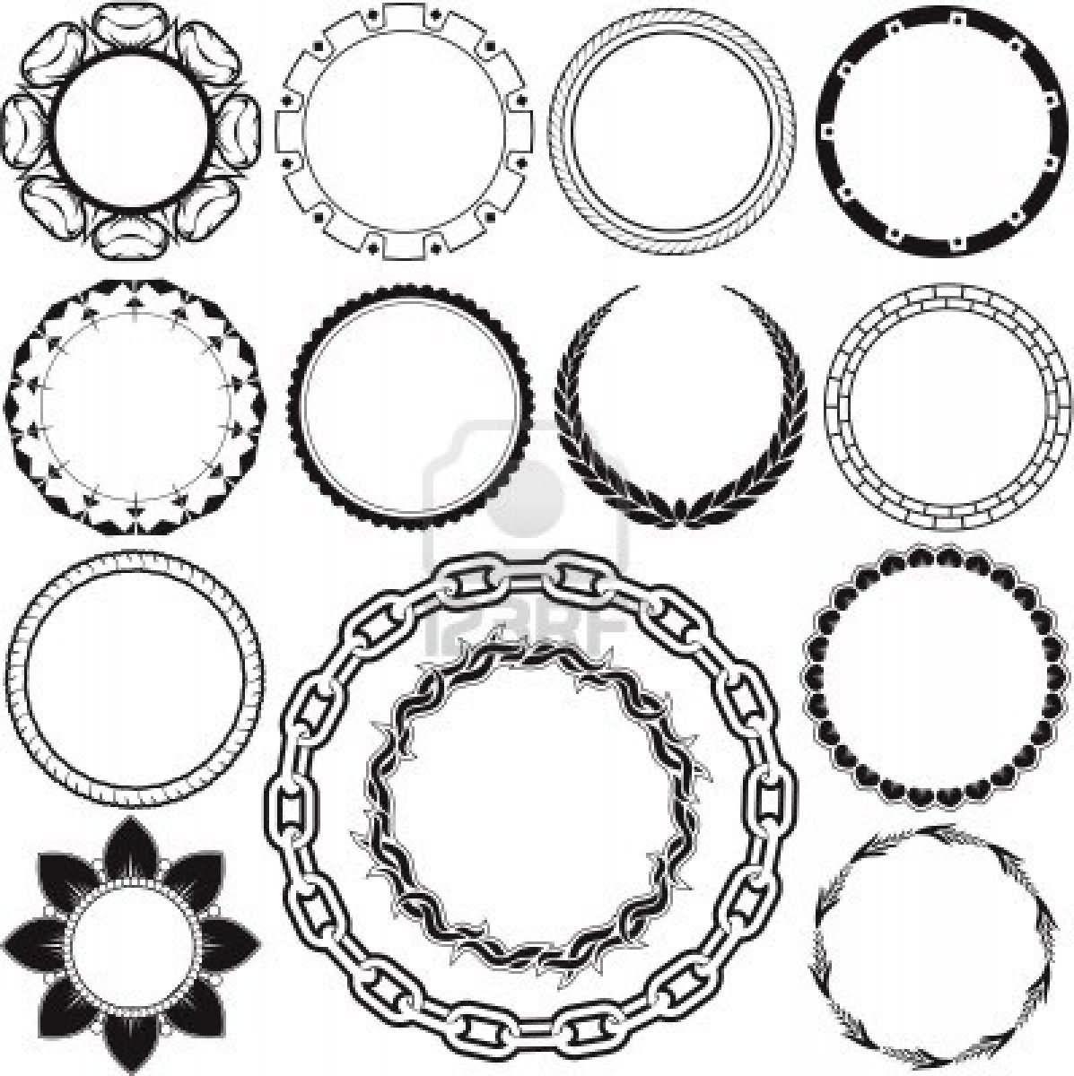 14 Latest Circle Tattoo Designs Elbow Circle Tattoo