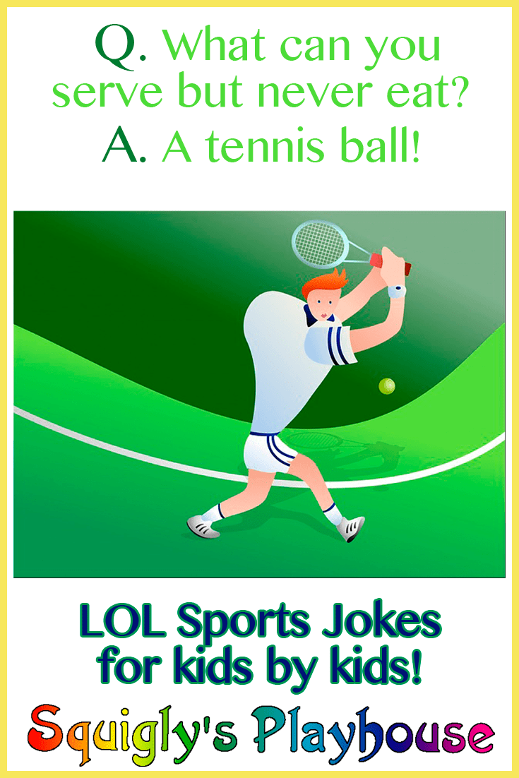 LOL, funny sports jokes for kids by kids! Riddles, Jokes