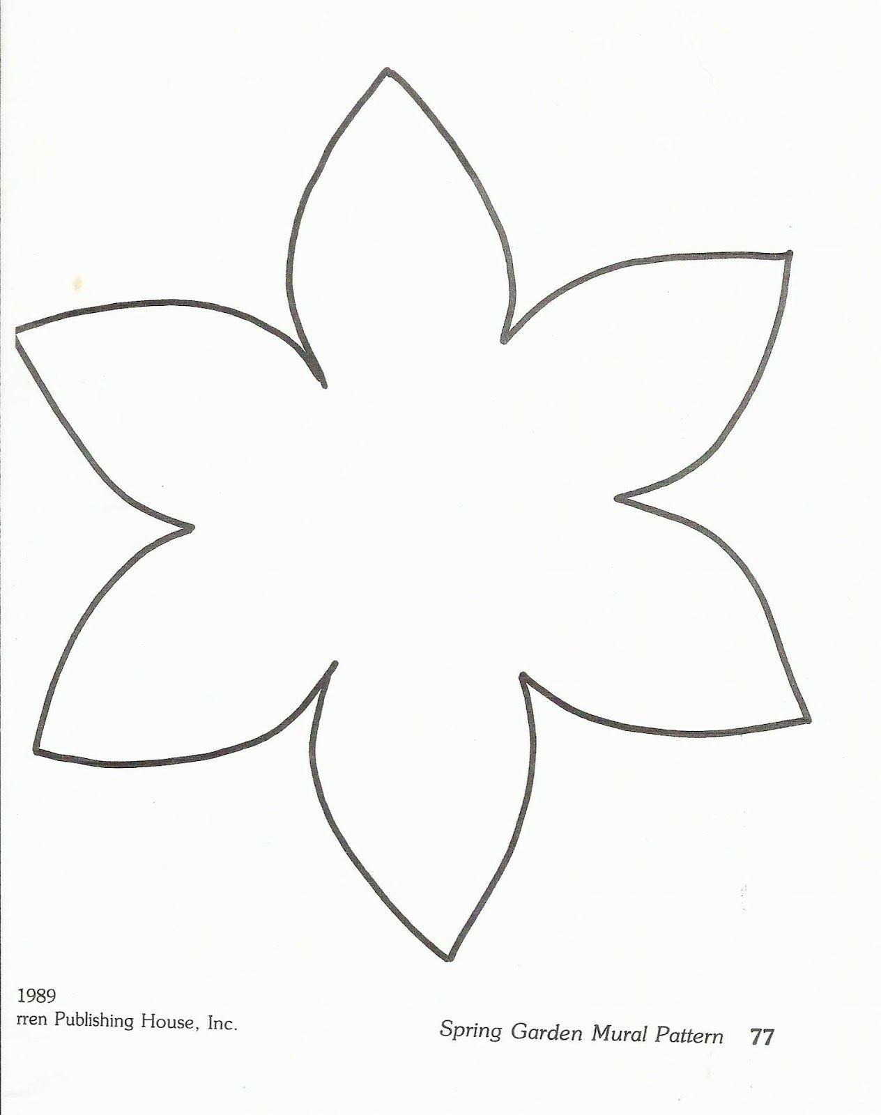 Flower Template Preschool Squishideasforpreschoolspot