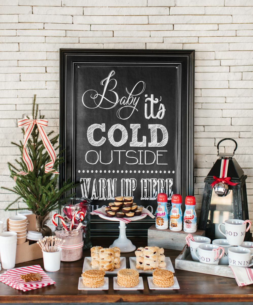 Tips for Creating a Holiday Coffee + Hot Chocolate Bar