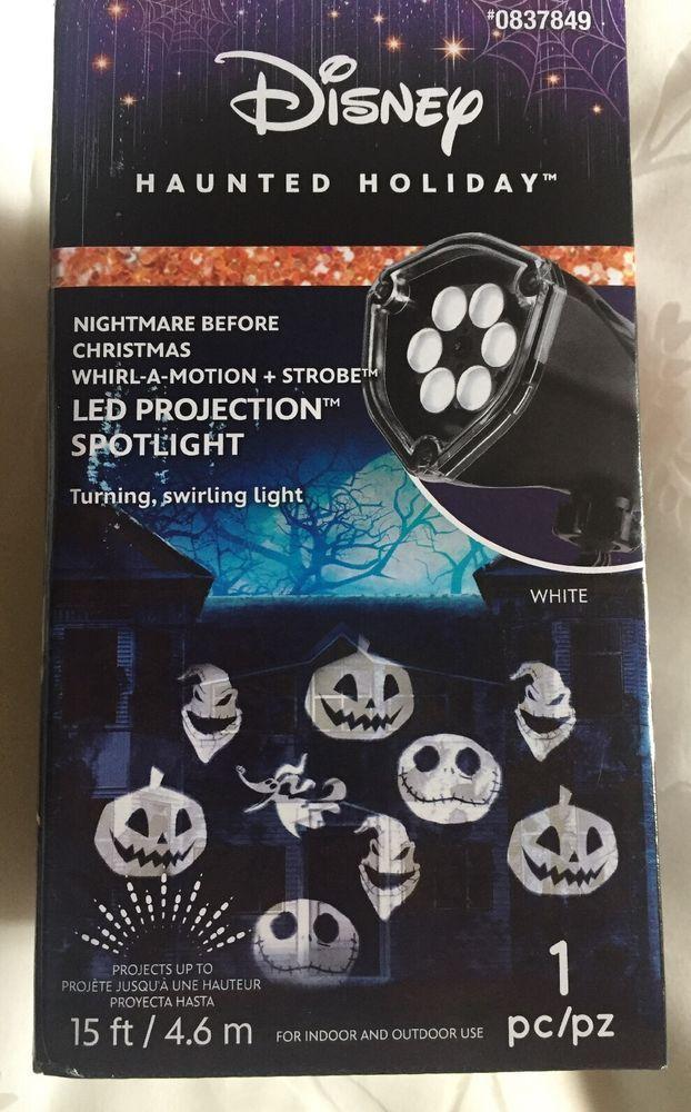 NIGHTMARE BEFORE CHRISTMAS DISNEY JACK SKELLINGTON, LED