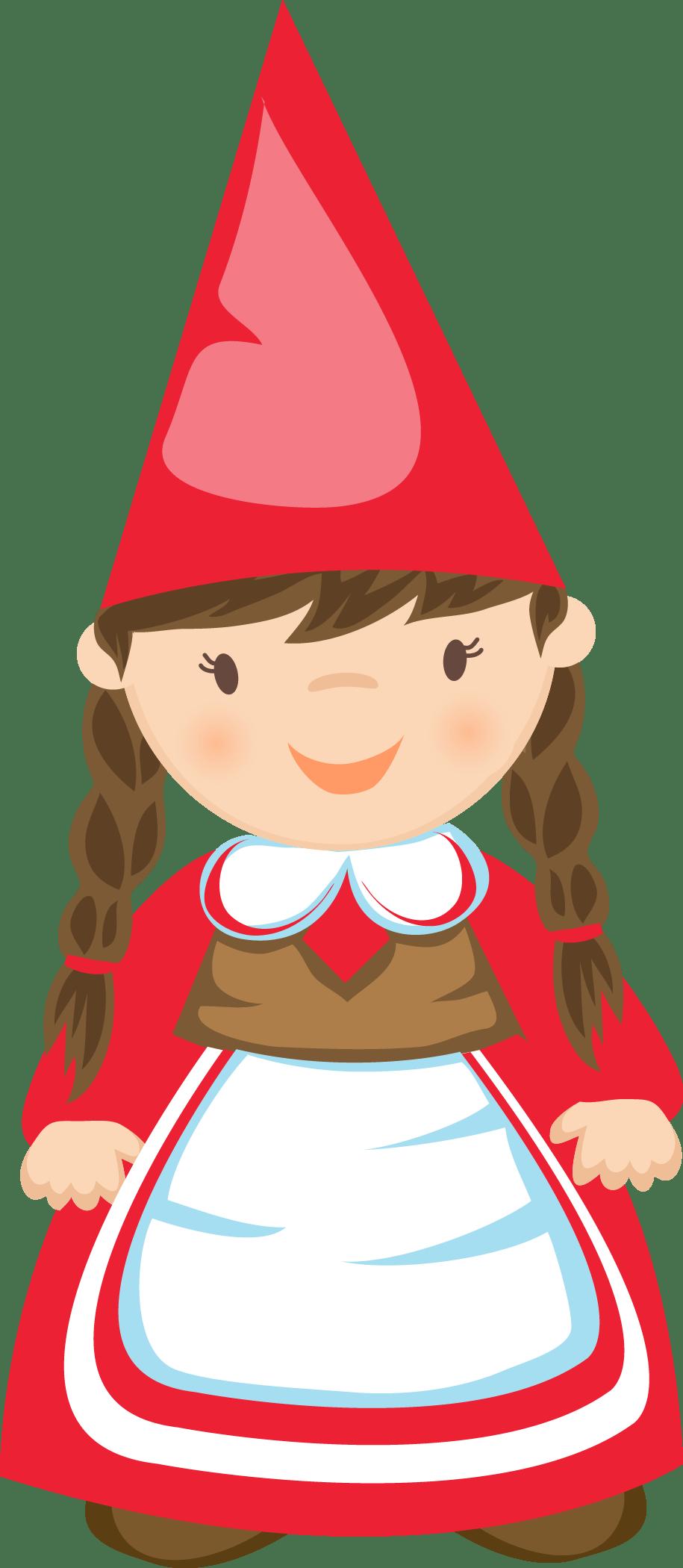 GIRL GNOME * CLIP ART GNOMES CLIPART Pinterest