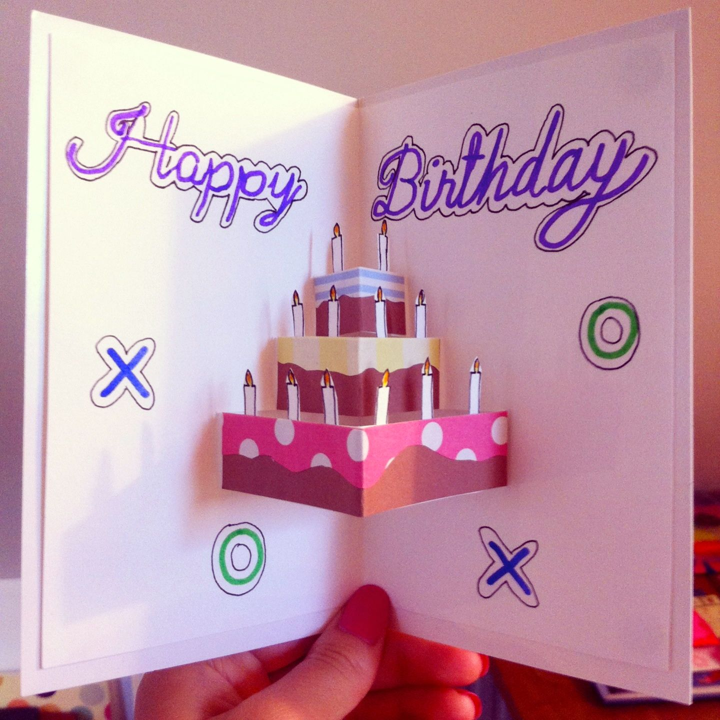 PopUp Birthday Card / For The Starry Nights Crafts