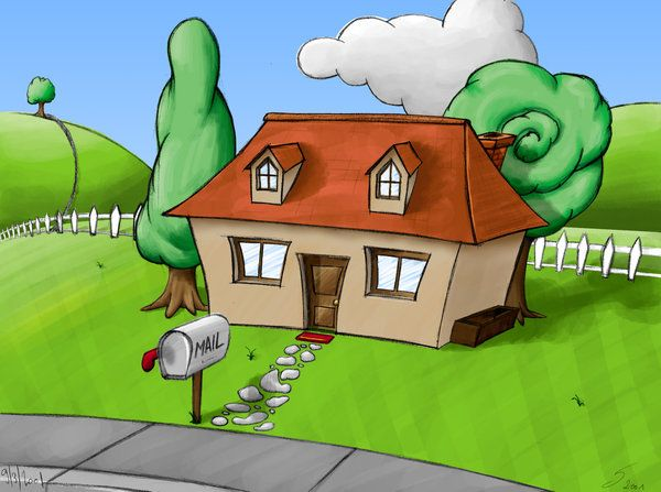 Image result for cartoon house