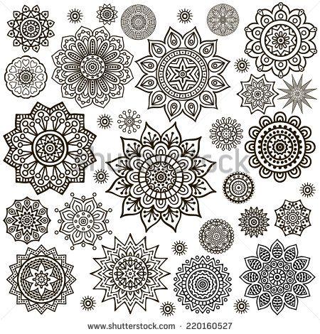 Mandala Round Ornament Pattern Vintage Decorative