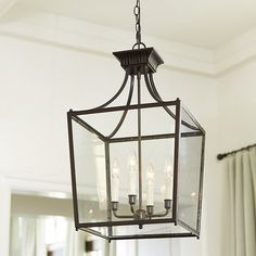 Our Sheffield Chandelier Features Four Candle Arms Within The Classic Lantern Si