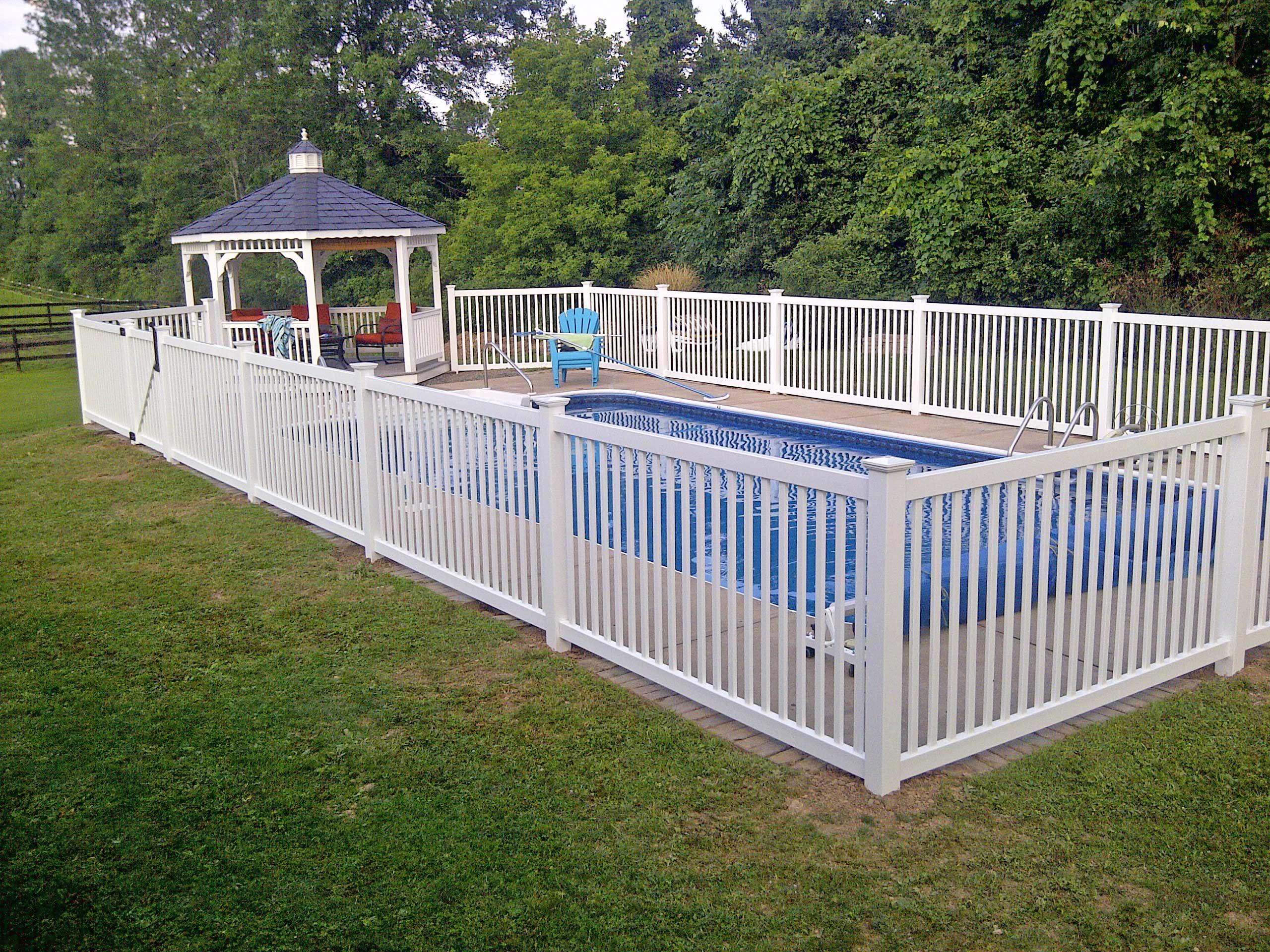 Pool fence ideas Phillip Ave Pinterest Fences