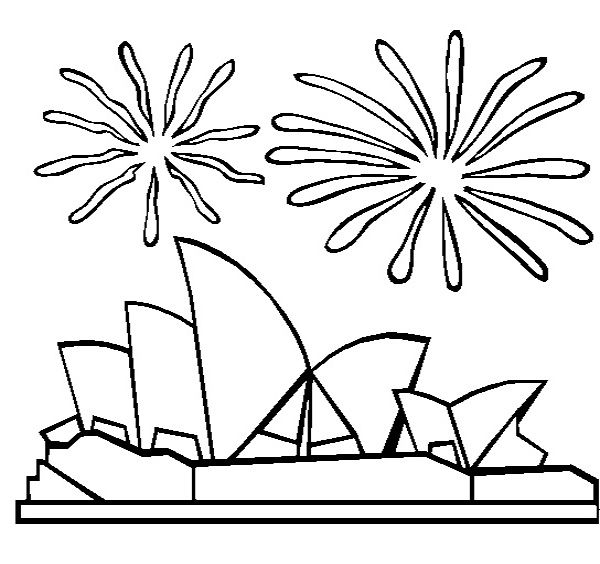 fireworks coloring pages and coloring on pinterest