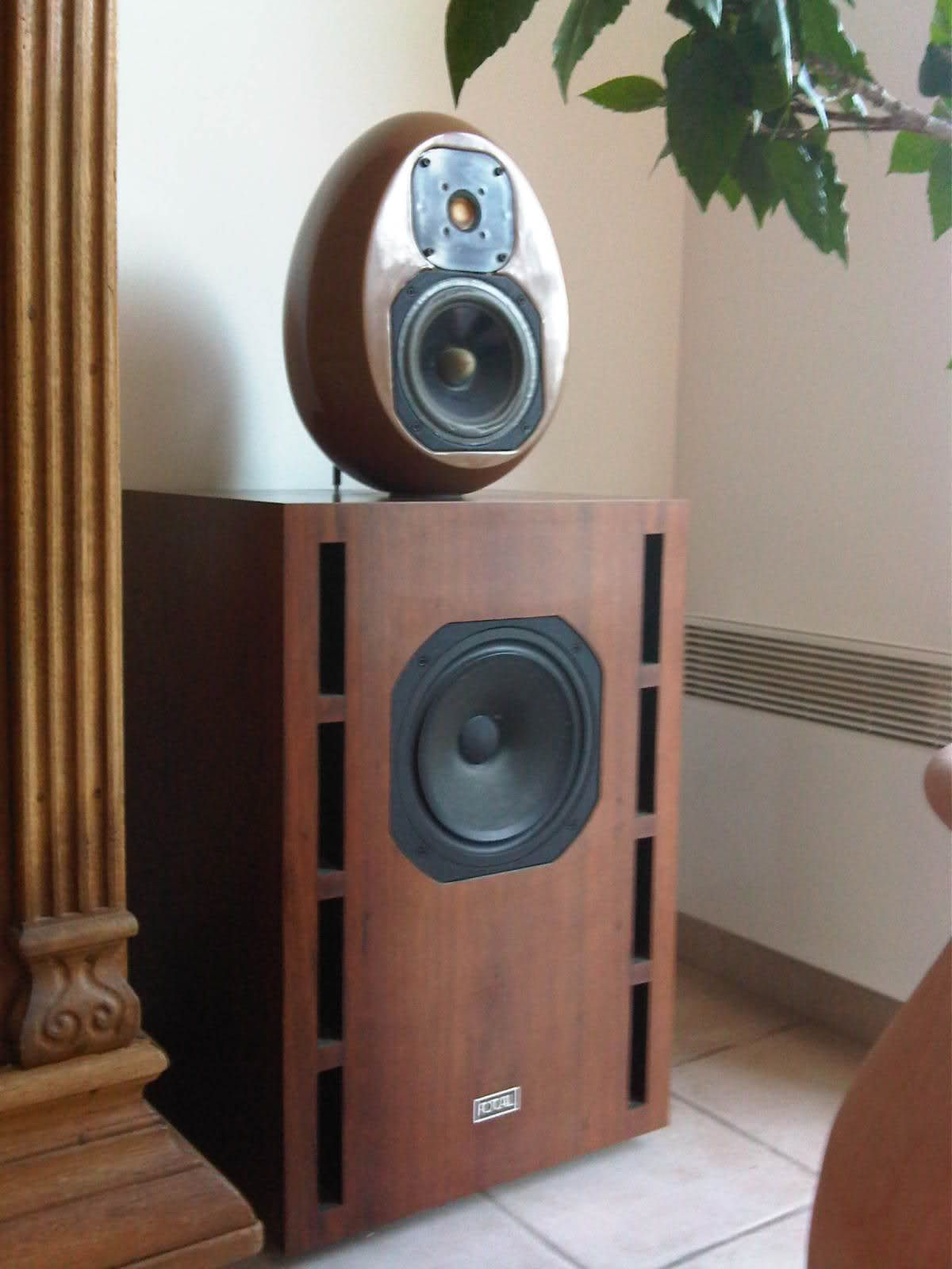 Focal Onken system. The original had the egg made of