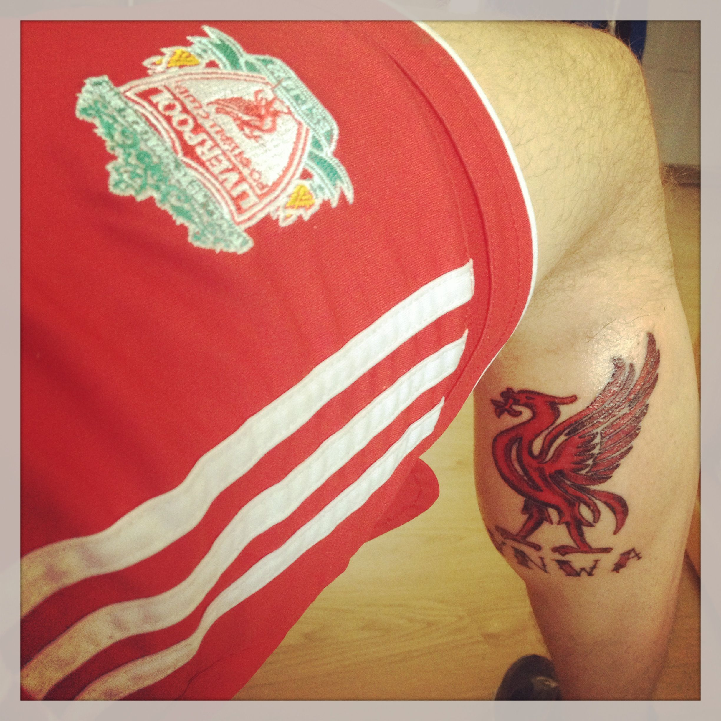 YNWA. You'll Never Walk Alone. Liverpool liverbird tattoo