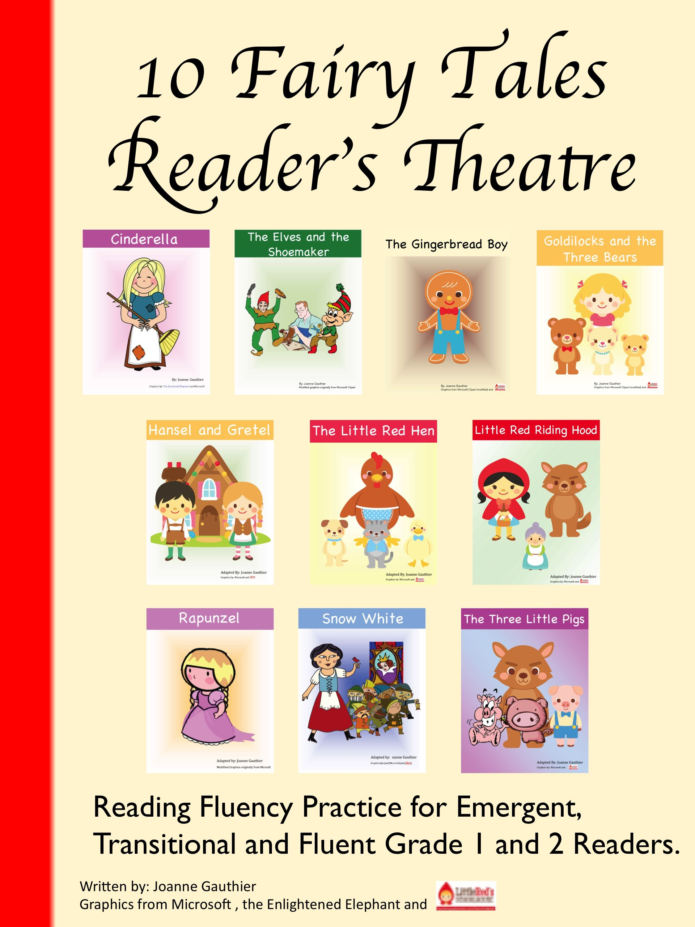 Fairy Tale Readers Theater For Grades 1 And 2