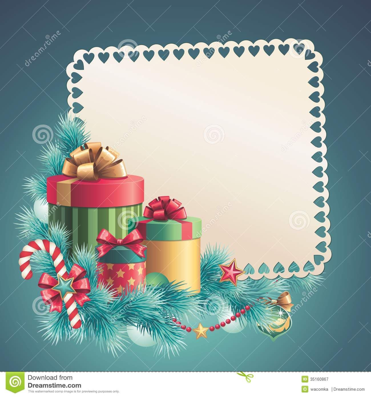 christmas card template Google 検索 Printables 3
