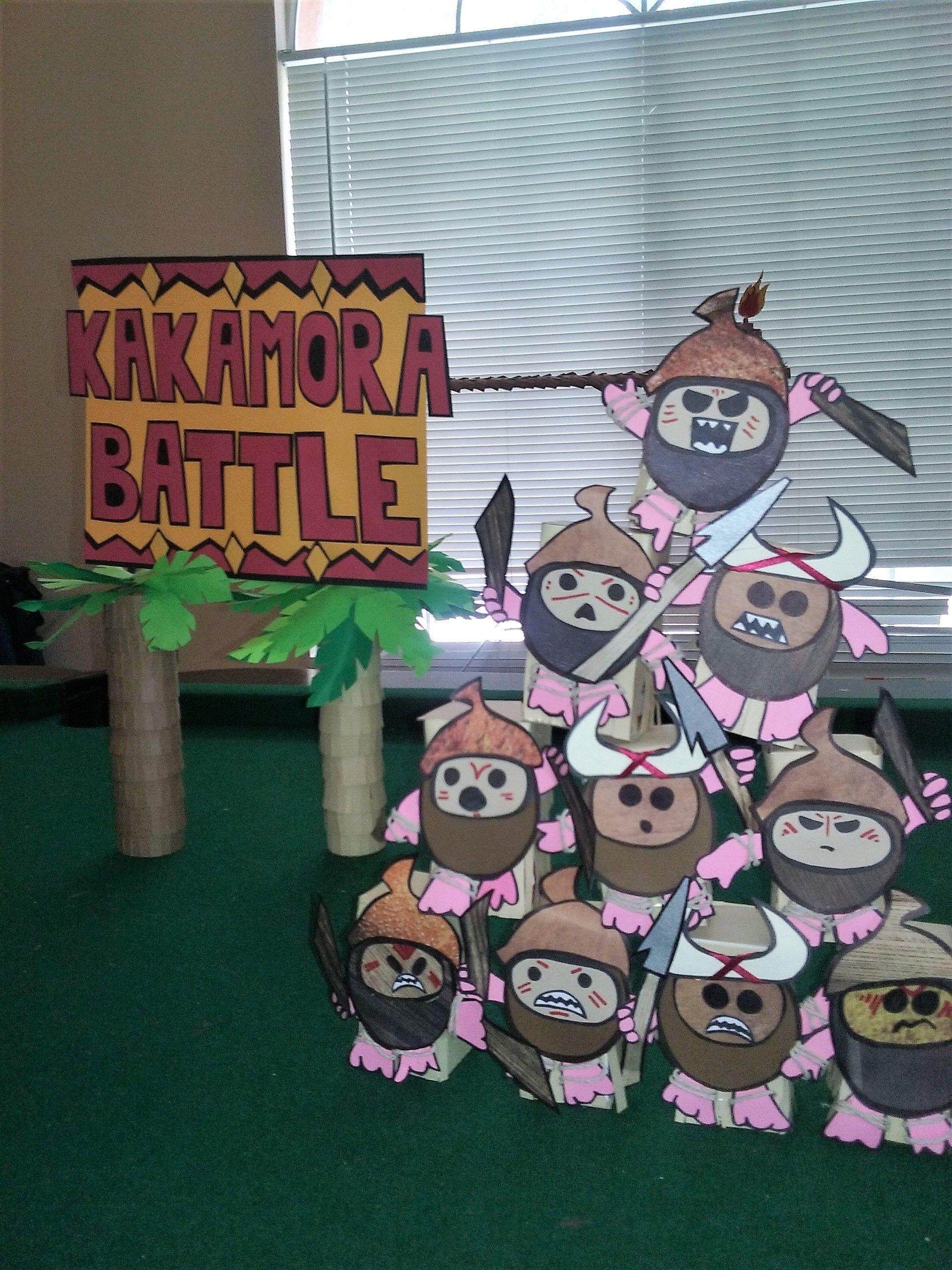 Moana Party game DIY custom kakamora pirates game in the