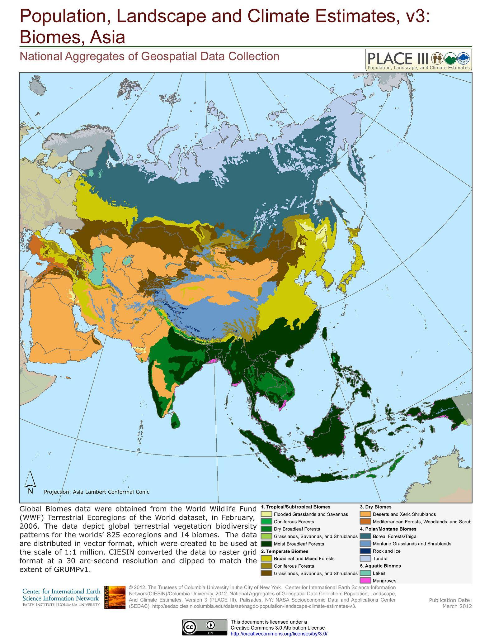 Biomes Asia