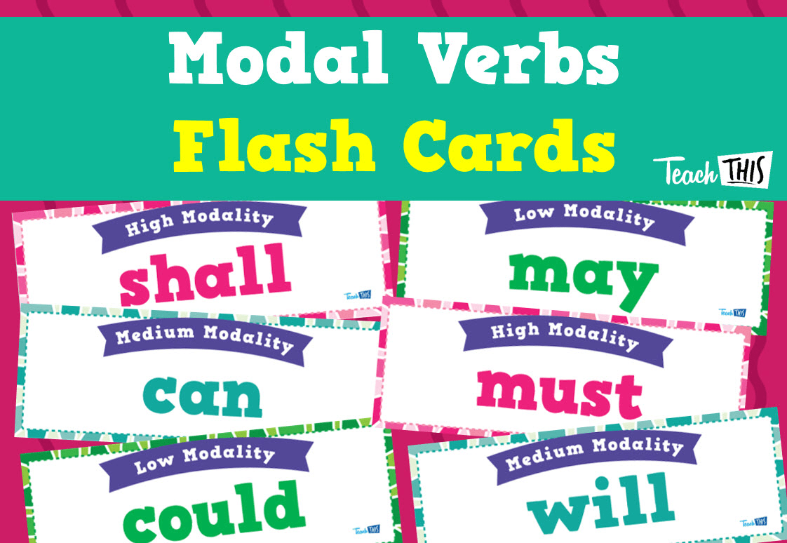 Modal Verbs Flashcards
