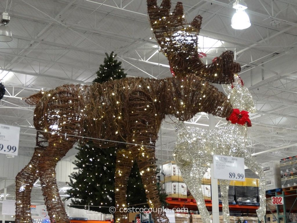 Philips 60Inch Grapevine Moose Costco Christmas