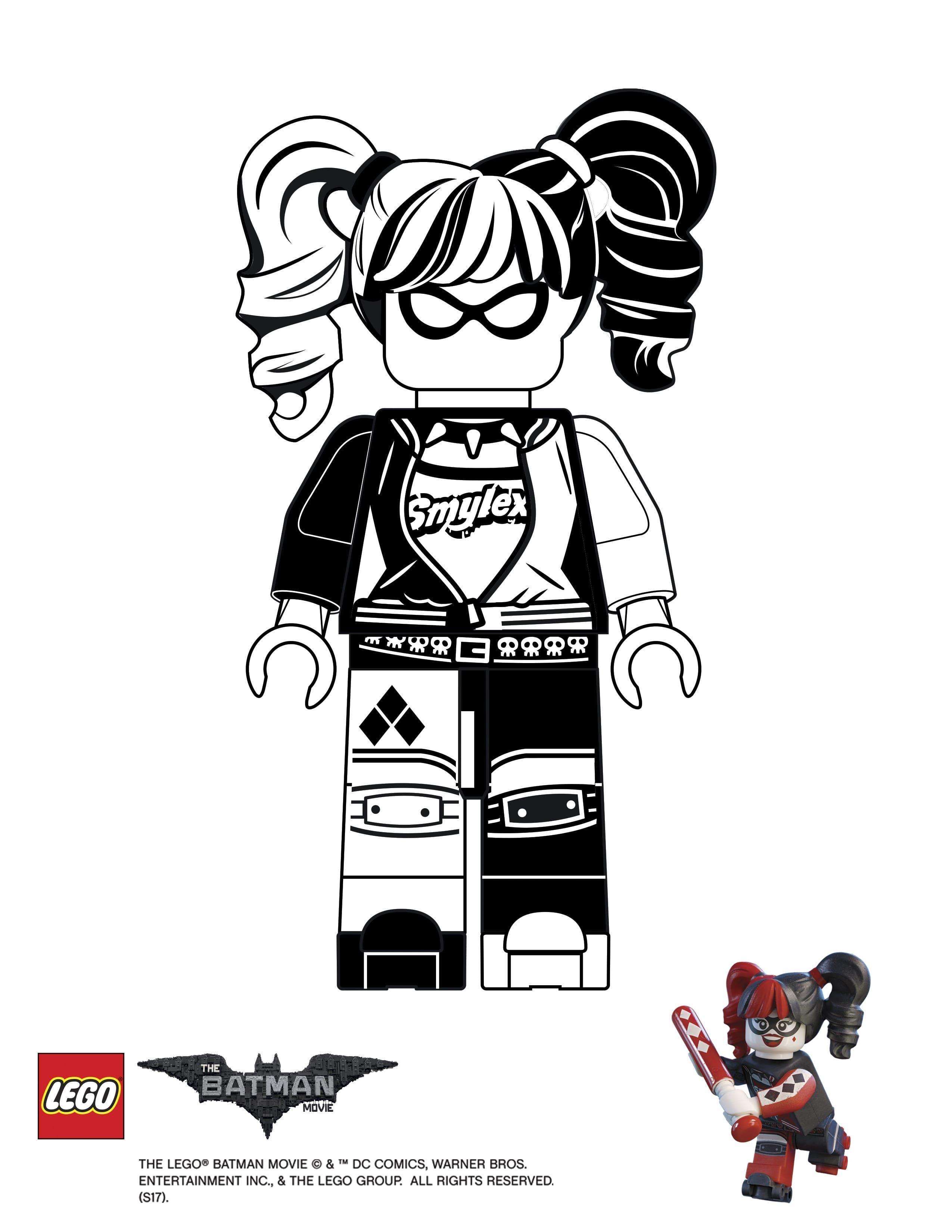 Finish Drawing Harley Quinn
