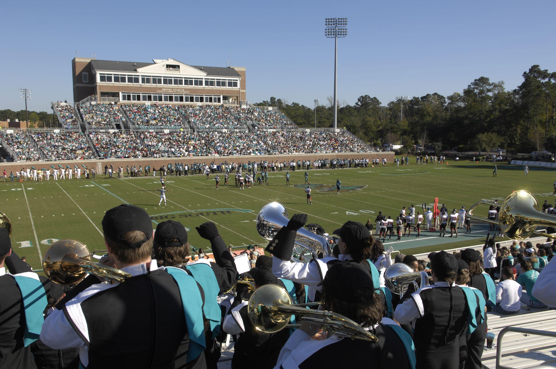 Brooks Stadium... Home of Coastal Carolina University