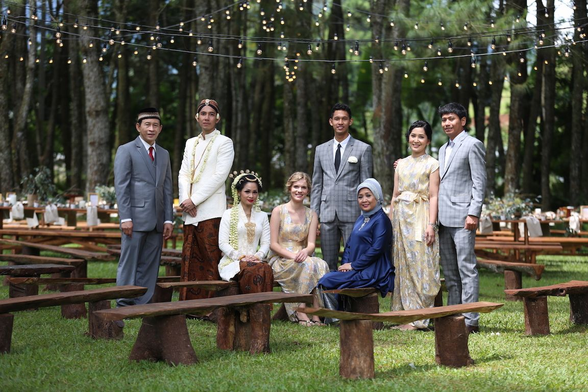 Andien Ippe Akad Nikah Ceremony andien aisyah ippe