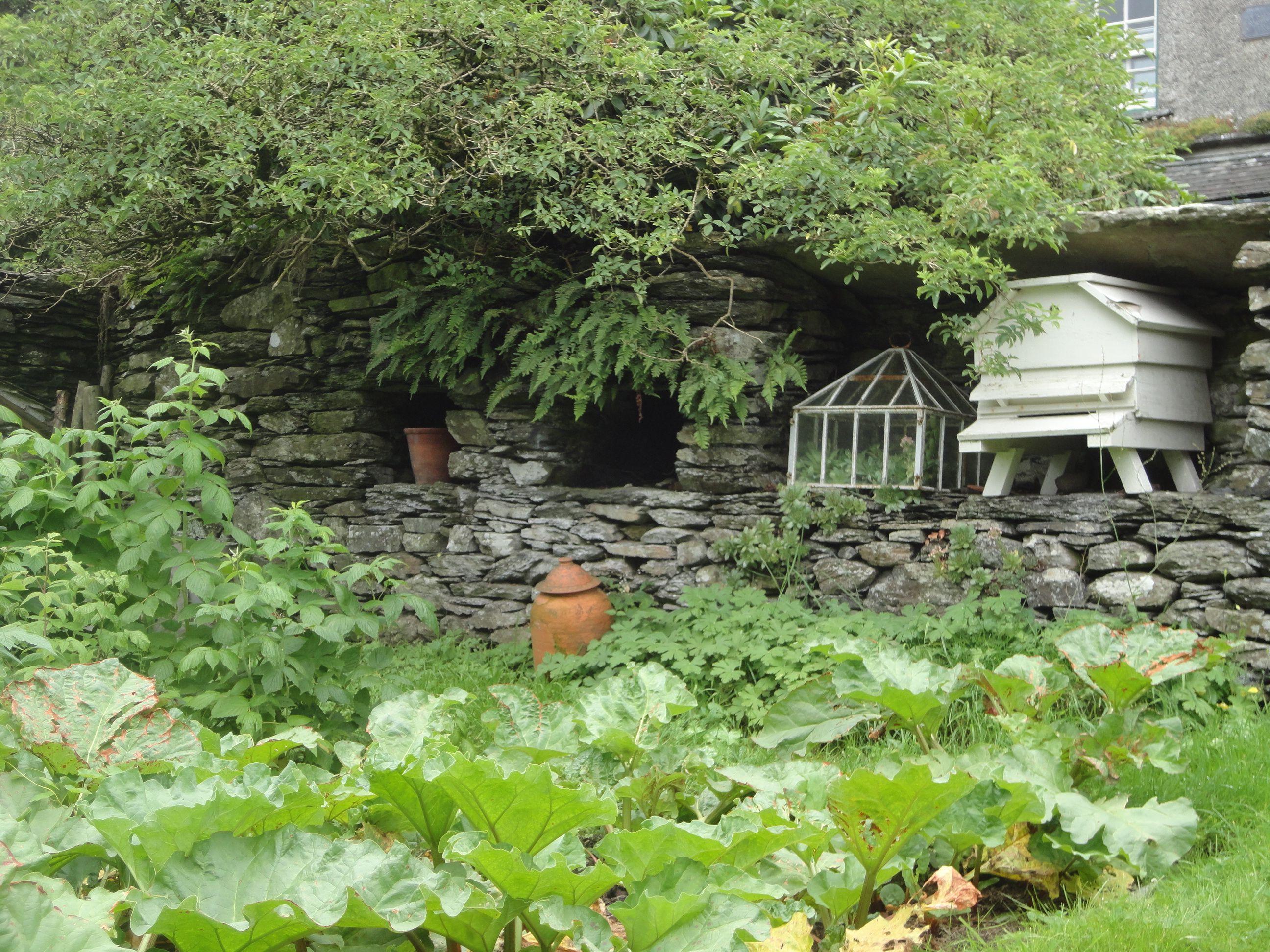 Beatrix Potter's garden at Hill Top Farm, Near Sawrey