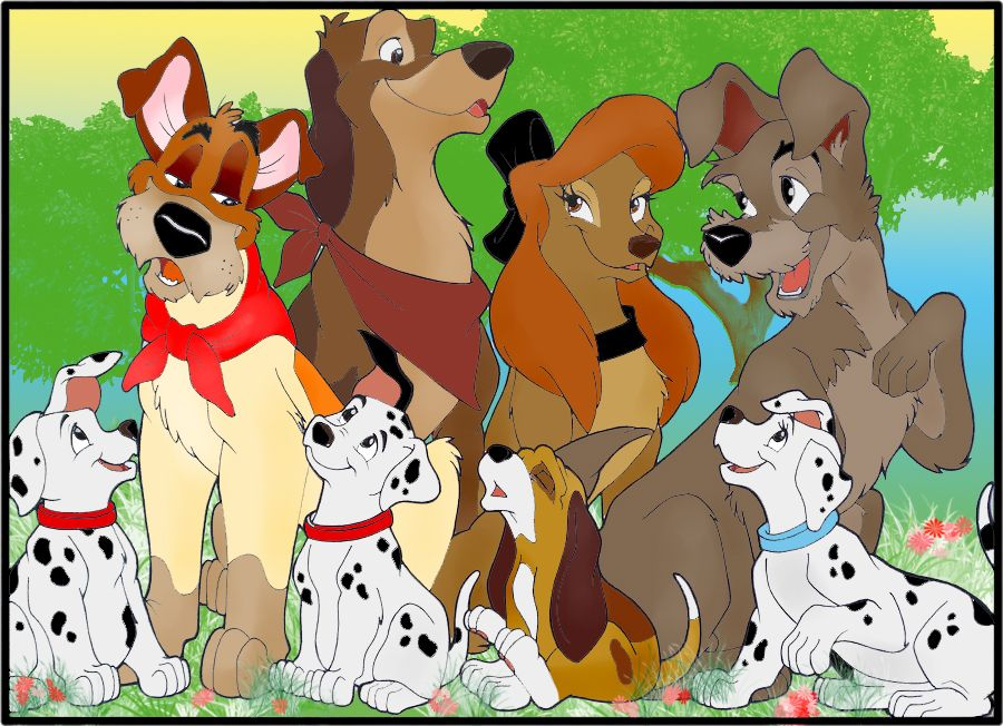 Image result for disney dogs