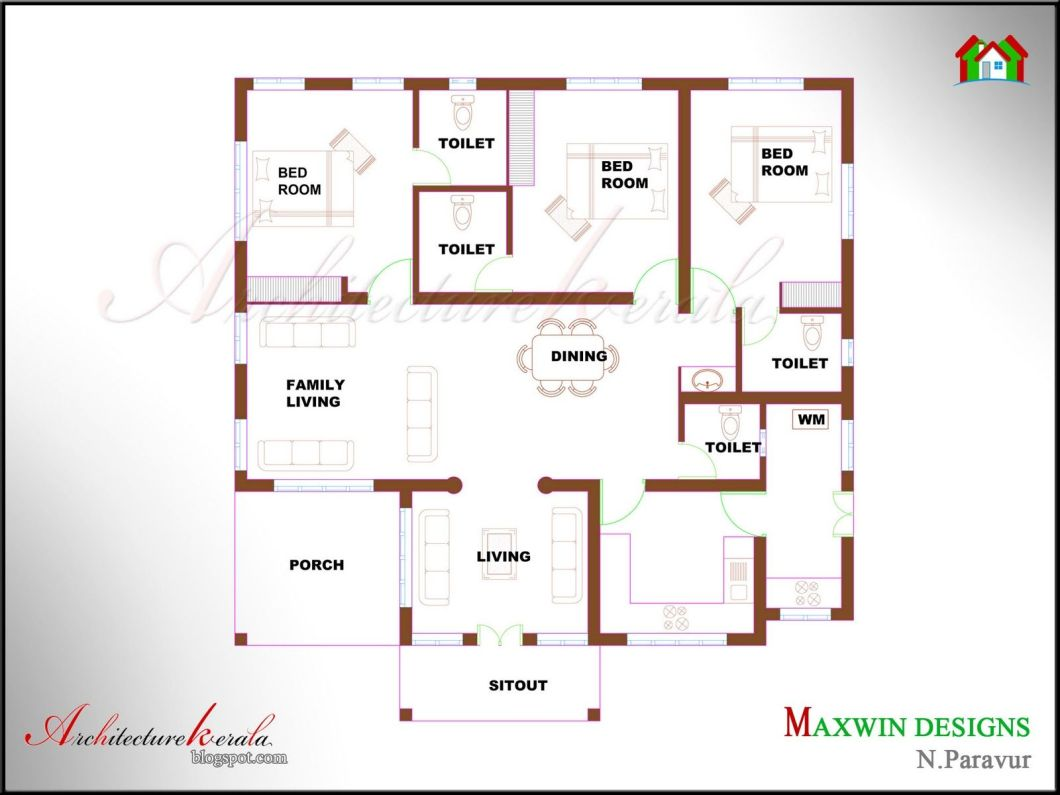 Kerala House Plan Photos And Its Elevations Contemporary Style Elevation Traditional Home