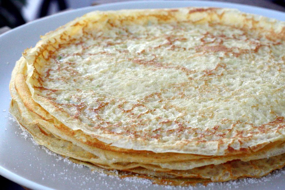 Spanish Style Crepes Recipe Crepe recipes, Breakfast