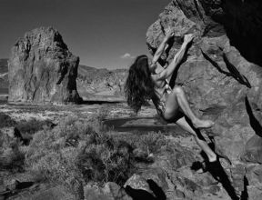 Image result for rock climbing naked