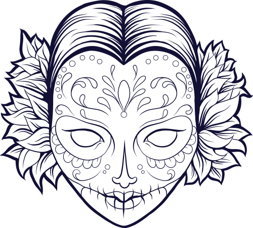 1000 images about sugar skull coloring pages on pinterest sugar