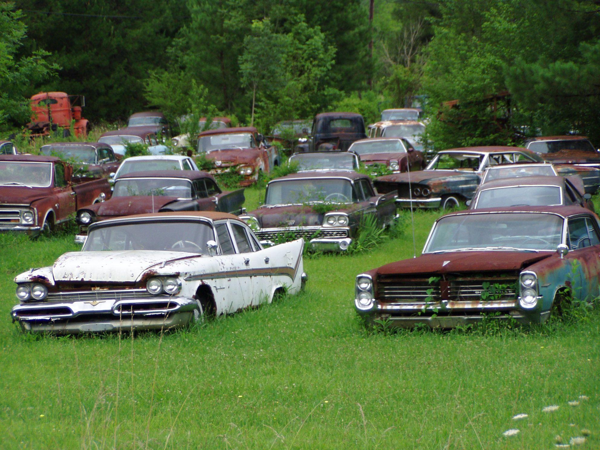junk yard cars Yahoo Canada Image Search Results Rusty
