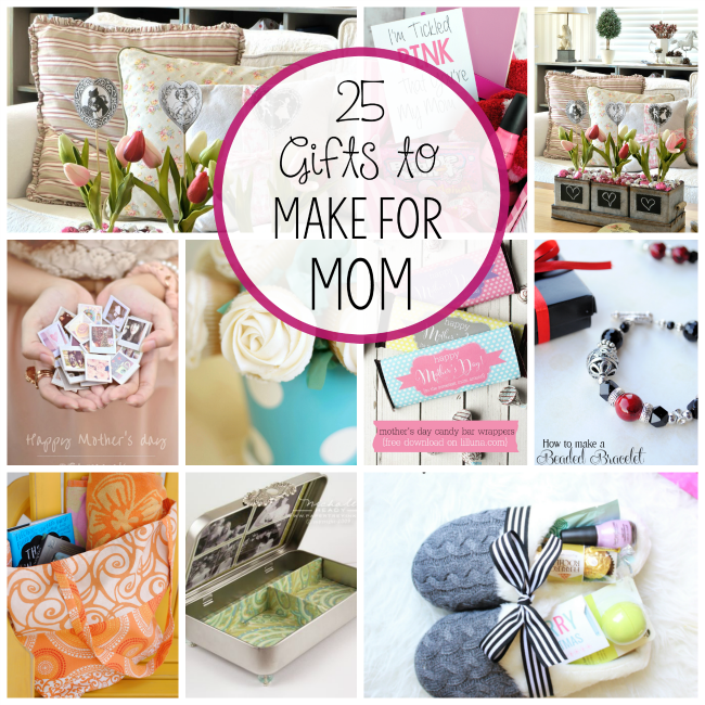 DIY Mother's Day Gift Ideas Gift, Craft and Sewing projects