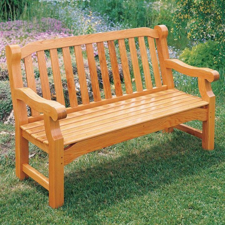 English Garden Bench Plan Garden benches, Woodworking