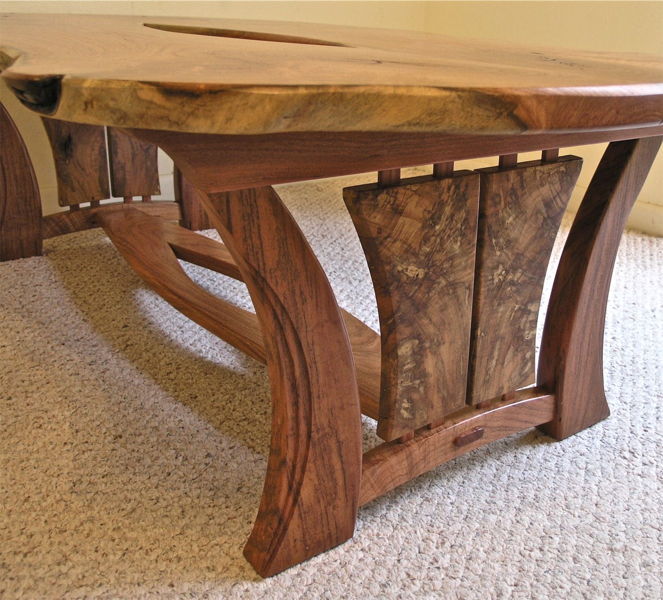 This table is my first completed piece in 2013. It is also