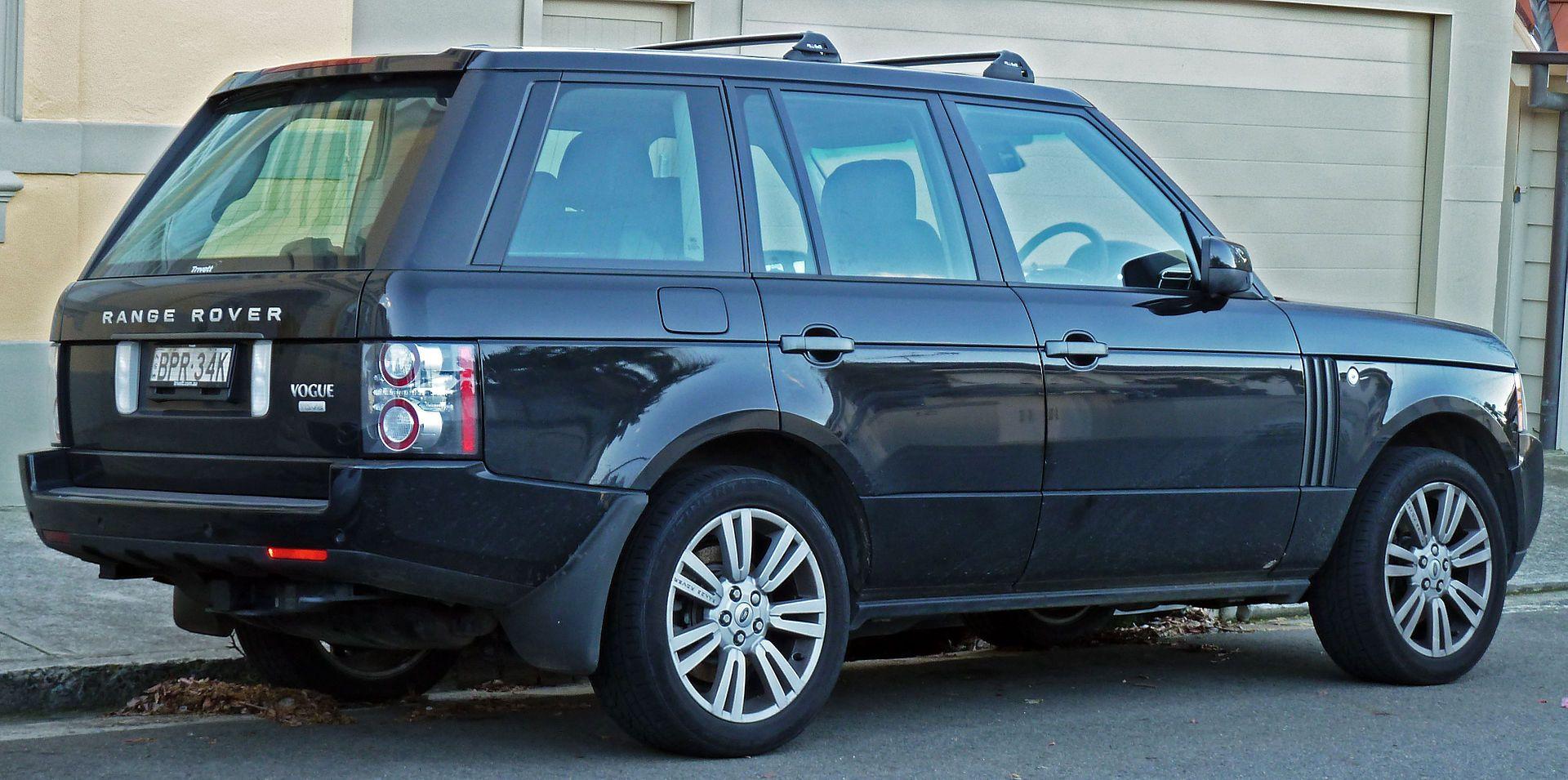 2010 Land Rover Range Rover Vogue (L322) TDV8 Luxury wagon