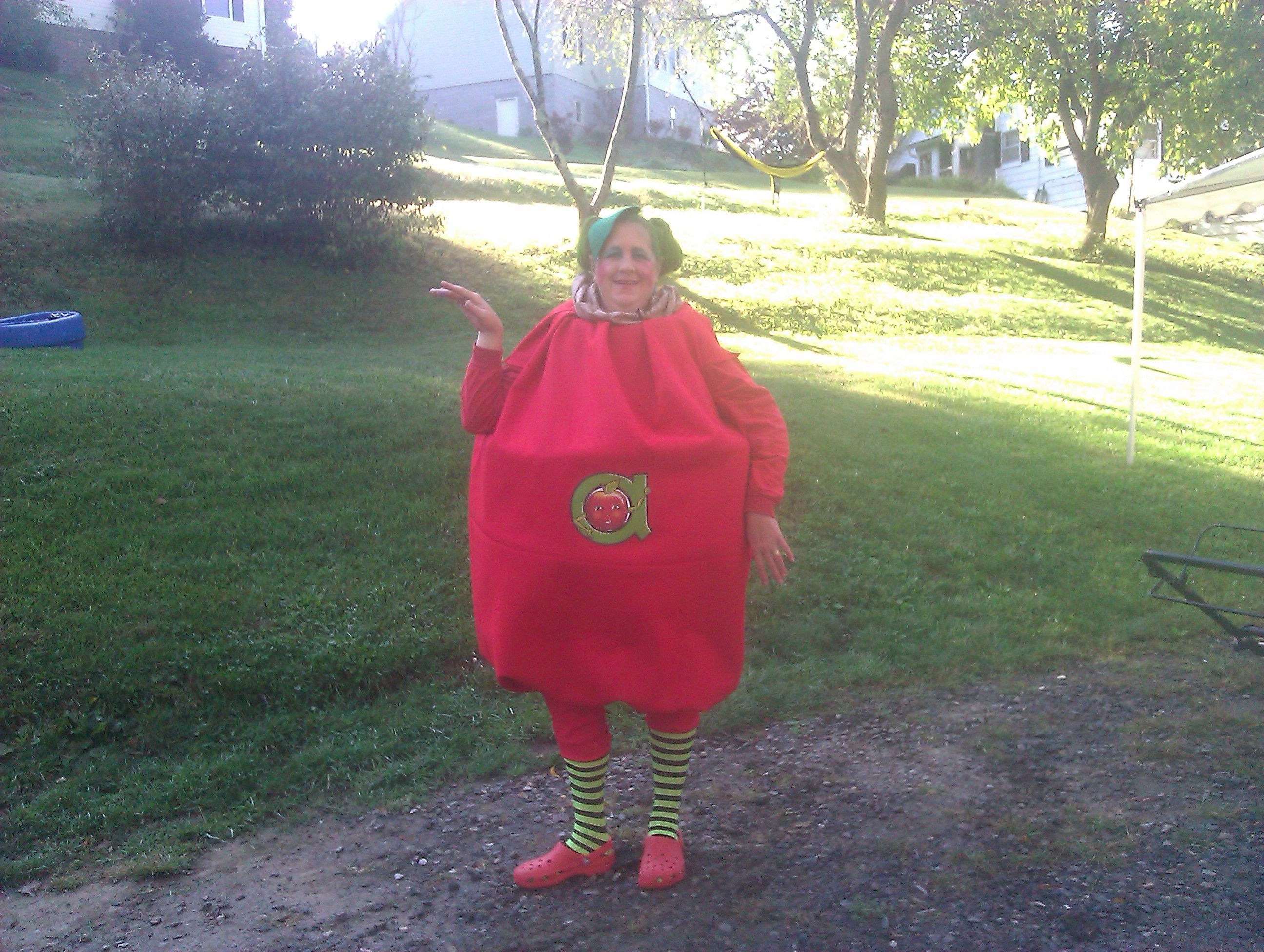 This Is The Costume I Made For Annie Apple Day At School