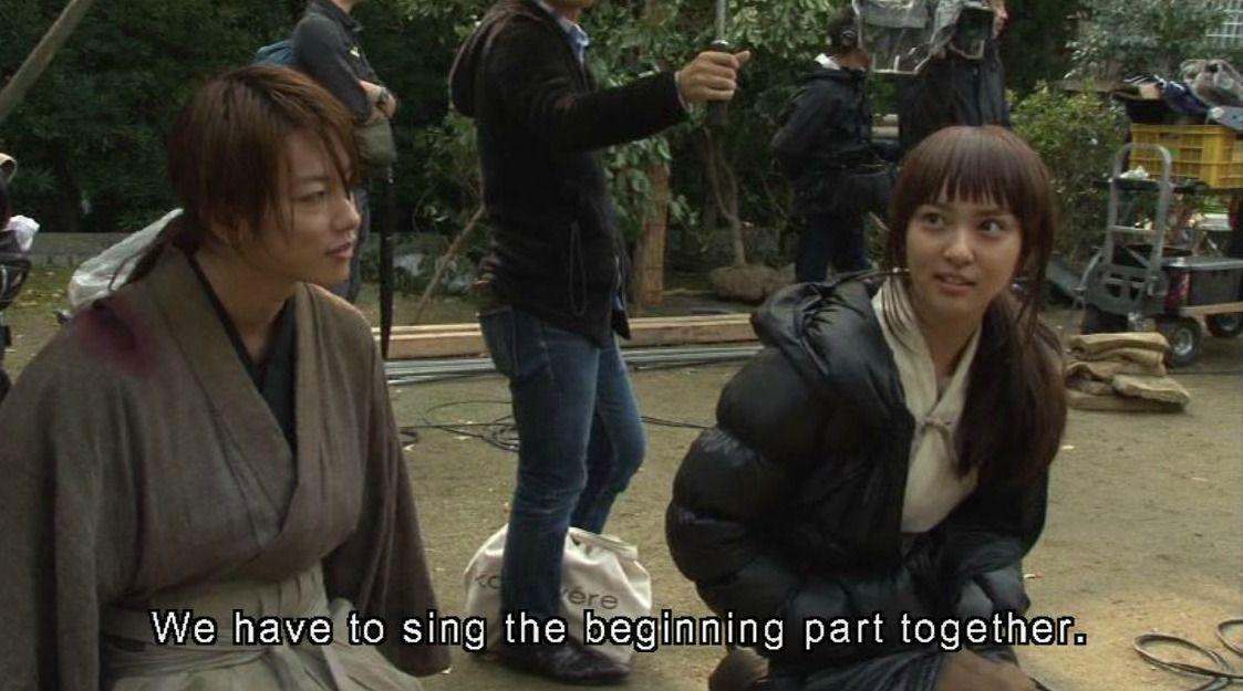 Emi Takei As Kaoru Kamiya And Takeru Sato As Kenshin