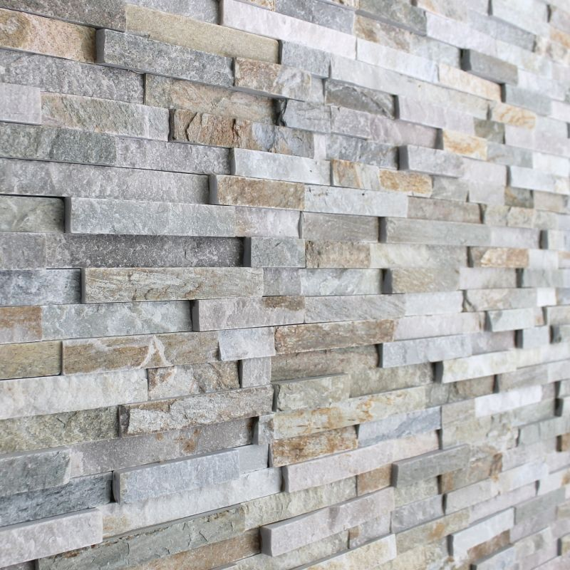 3d Polished Grey Brick Stone Tile 3d tiles, Grey brick