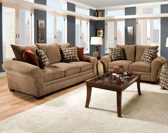 Resort Harvest Sofa Amp Loveseat Living Rooms American