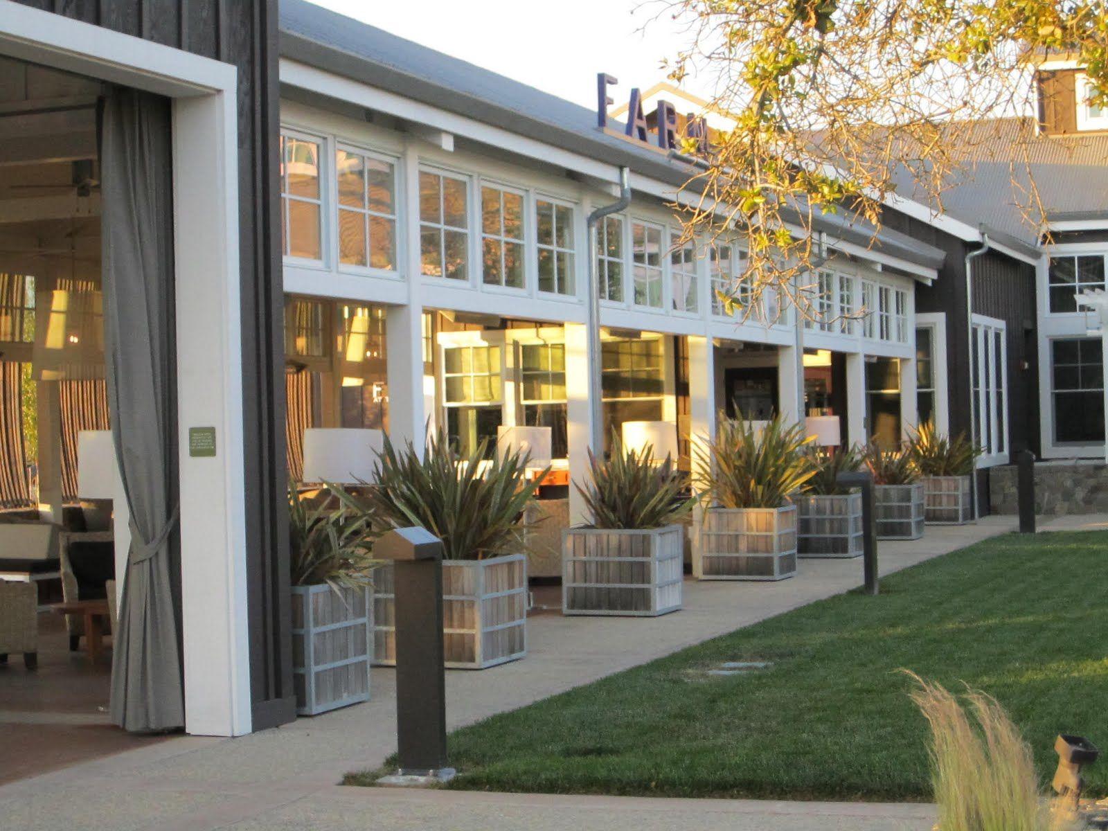 Carneros Inn FARM Restaurant Napa CA Favorite Places