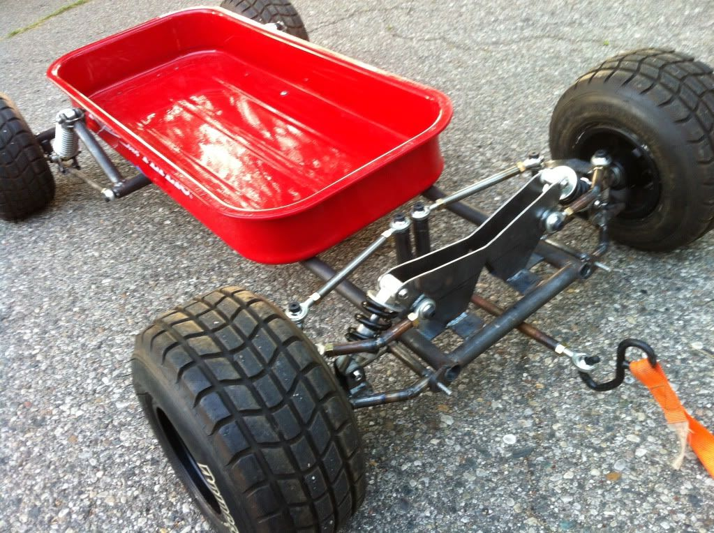 Our Radio Flyer Suspension Upgrade Project Log Page 2