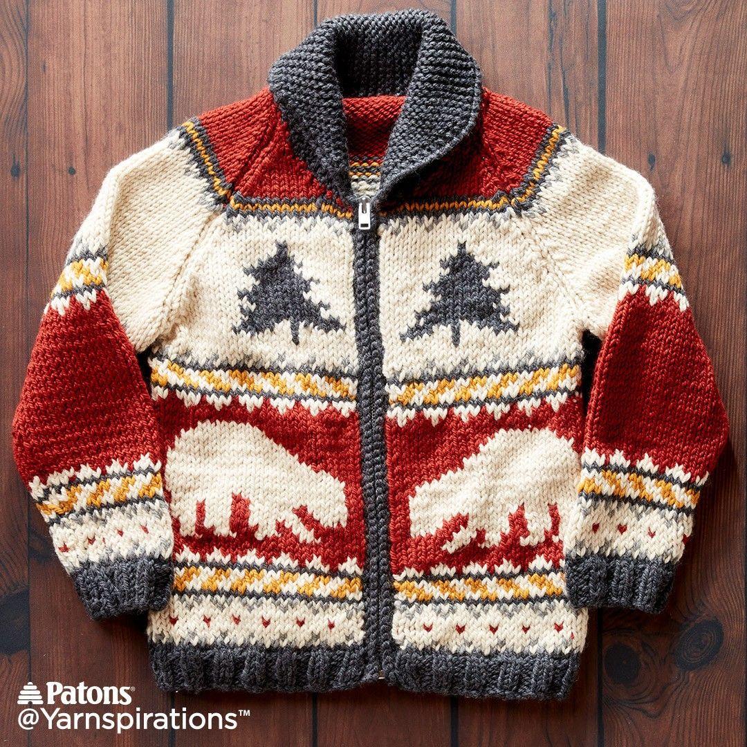 True North Knit Jacket Knit Free Pattern