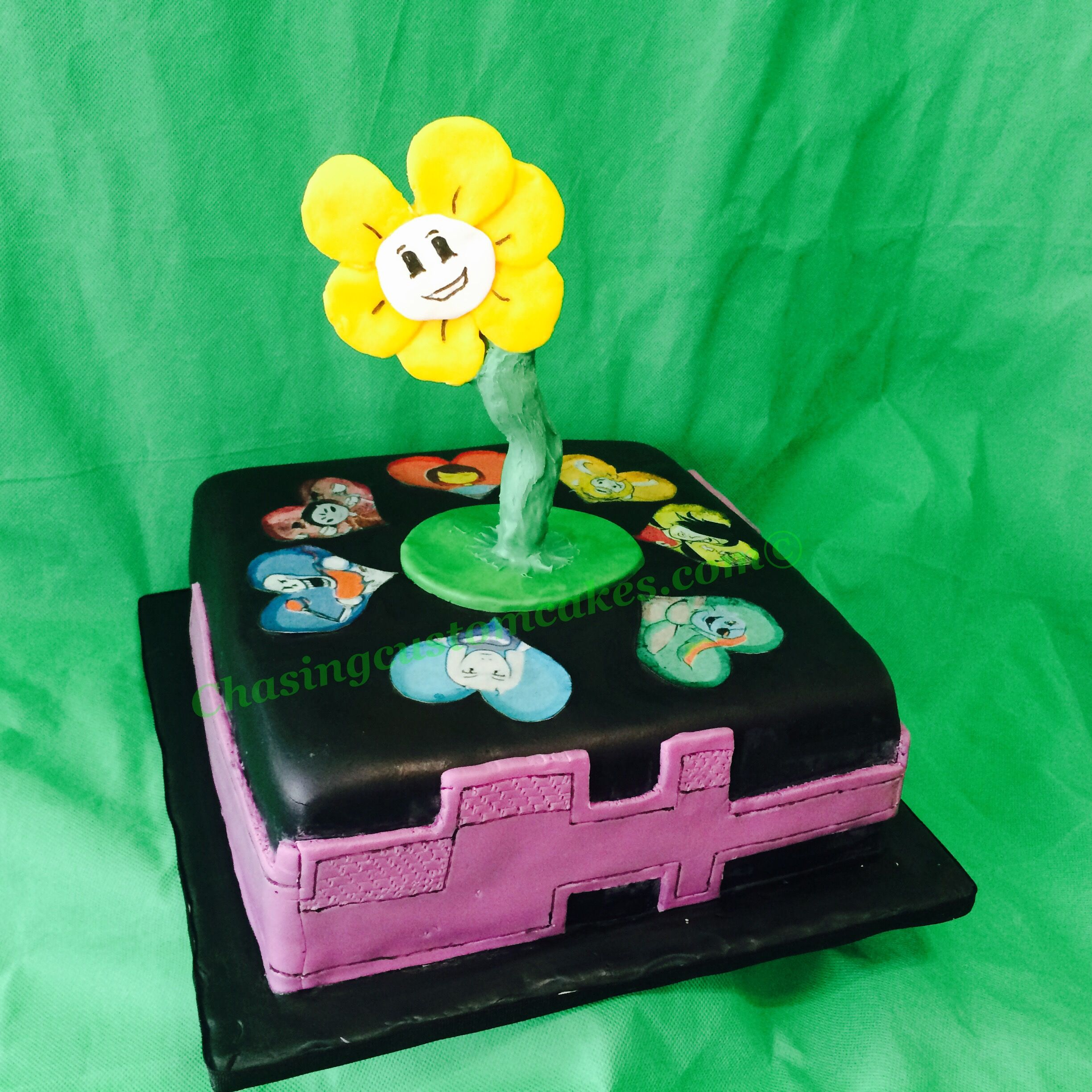 Undertale Cake Cake and Video games